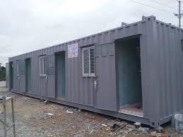 Quy trình sản xuất container văn phòng thanh lý chất lượng.